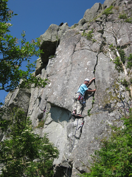 Climbing at Clifton