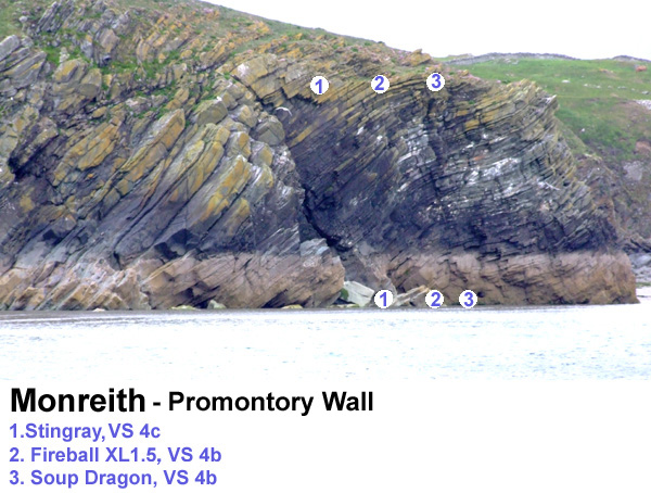 A nice spot about 2km south of Monreith