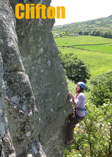 Wall Street, Clifton climb - picture courtesy of Stephen Reid